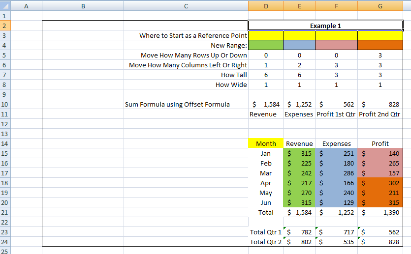 This is the Bomb: or How I came to love the Offset function - Excel