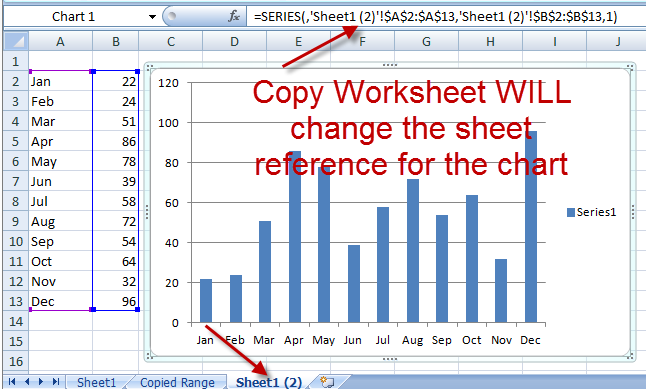 How to copy charts and change references to new worksheet 1 right click on the ibookread ePUb