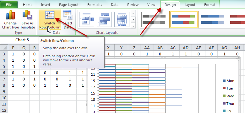 ... 24 Hour Time Worked Gantt Chart in Excel - Excel Dashboard Templates