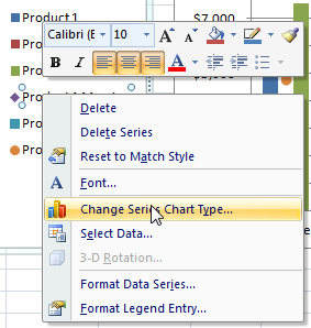 The Quickest Way to Select an Data Series in an Excel Chart