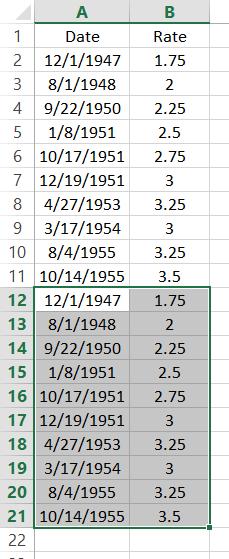 Paste Data Range