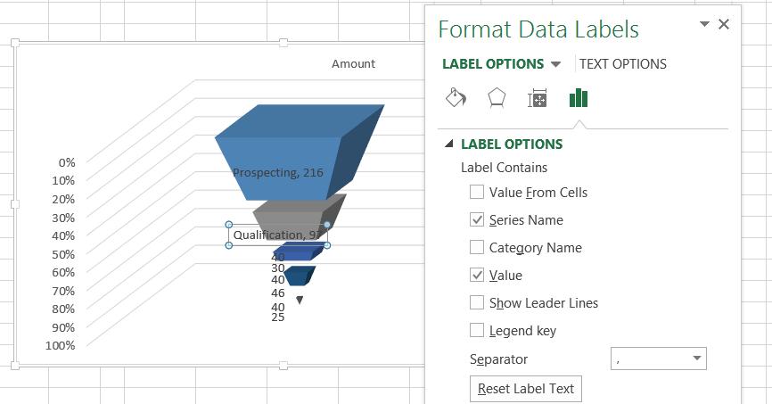 Data Label Options