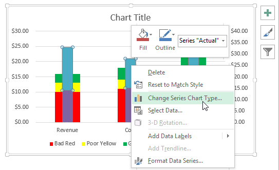how to change line widths in excel