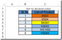 Match Product Chart Colors to Excel Spreadsheet Cells – Pete's VBA