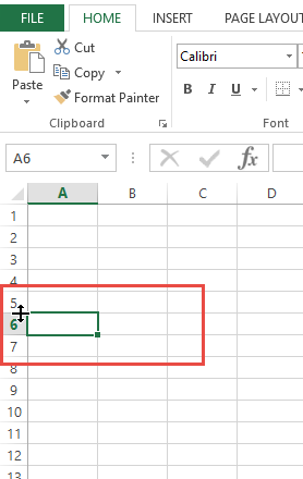 how to fix the curser in excel for mac