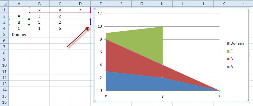 Edit Excel Chart Series Range Selector 1