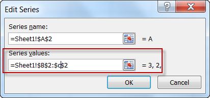 Edit Excel Chart Series Range