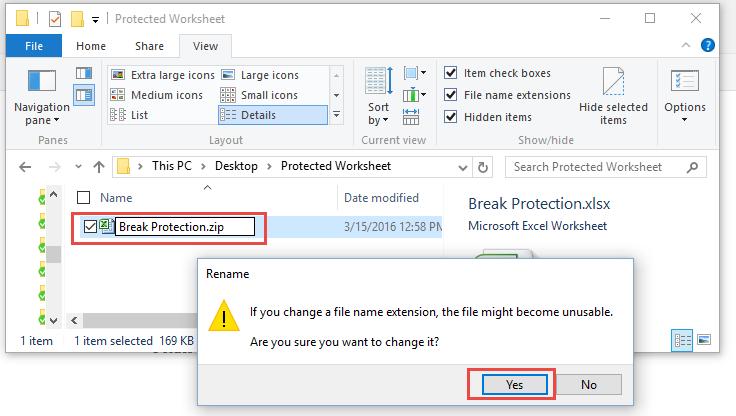 excel vba change filename extension removing recent