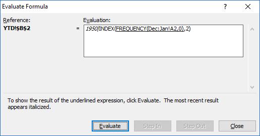 AverageIF Across Excel Worksheet Tabs Sum Component Result