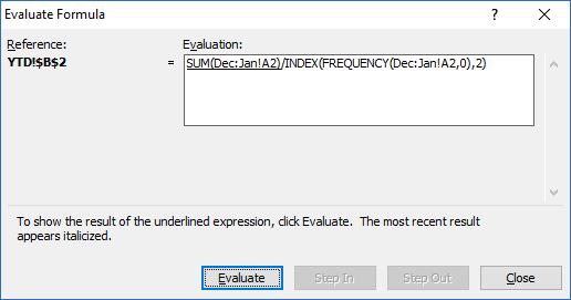 AverageIF Across Excel Worksheet Tabs Formula