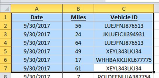 Select Large Range Contiguous