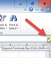 Expand Formula Bar control