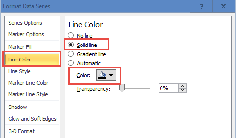 Draw Vertical Line Between Columns - Change Added Series Line Color
