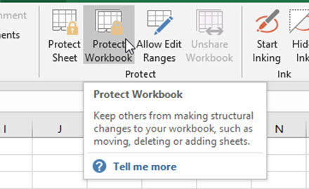 How-to Hack Excel Protect Workbook Feature When You Forgot the ...